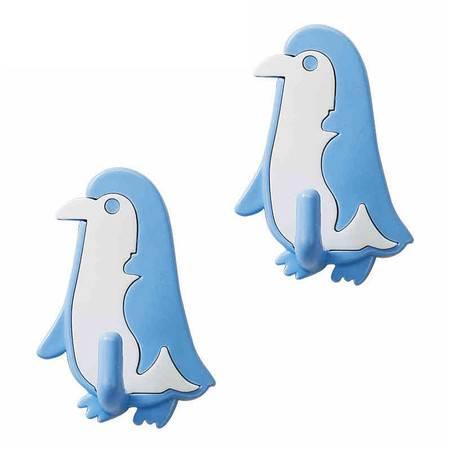 茶花 企鹅形粘钩2961 茶花塑料 家居用品