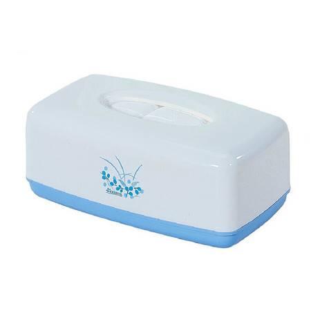 茶花纸巾盒 时尚创意欧式卫生间厕所卷纸筒家居抽纸盒0914