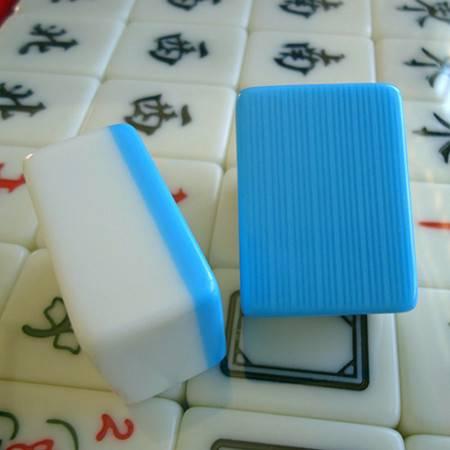 家用麻将牌 一级正品 38号 晶玉麻将手搓 大中小号 144张全牌 【买一送四】【全国包邮】