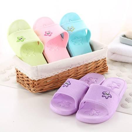 女款拖鞋室内浴室防滑凉拖多款可爱凉鞋小兔海星镂空多款选择情侣拖鞋【全国包邮】