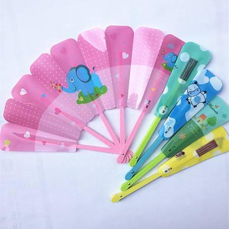 学生儿童可爱卡通清凉便携折叠小五折扇【多省包邮】【新款】