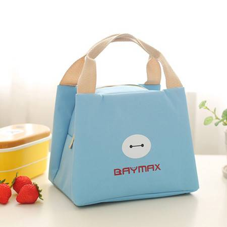 保温手提袋 手提包 便当包 保温饭盒袋 保鲜奶瓶包 帆布铝箔 时尚加厚 带午餐【多省包邮】