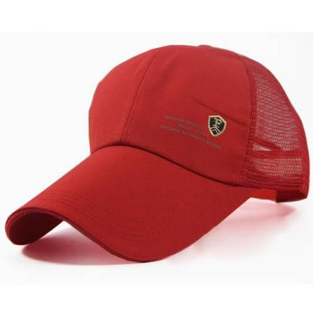 男士鸭舌帽 遮阳帽 太阳帽 棒球帽 透气网帽  户外防晒 外出防护【多省包邮】