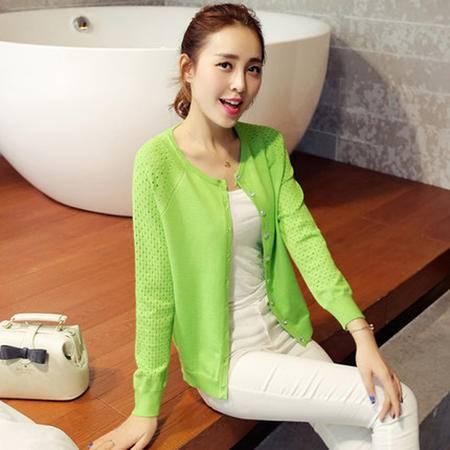针织衫女薄开衫新品秋装大码女装韩版毛衣防晒针织开衫披肩空调衫