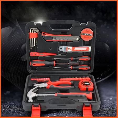 如海 实用工具箱40件套组合 家用手动维修箱 五金工具