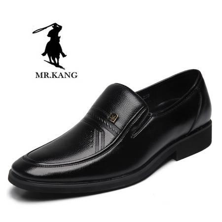 米斯康男鞋2016年春秋新品商务鞋正装皮鞋男士真皮单鞋低帮鞋528
