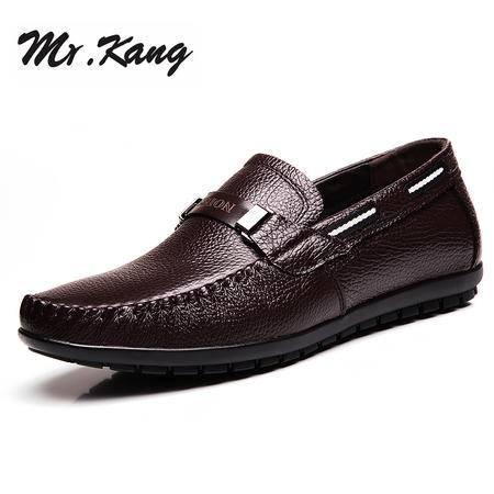 米斯康男鞋商务休闲鞋夏天男士真皮鞋子潮2015春夏季皮鞋男英伦鞋6675