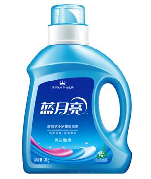 蓝月亮 亮白增艳洗衣液(自然清新)3kg/瓶