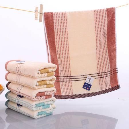 特价专柜正品金号毛巾 纯棉提缎面巾 柔软吸水0120 简约大方的毛巾