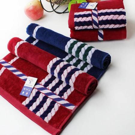 金号毛巾专柜正品 赤金纯棉提缎割绒 成人情侣加厚面巾