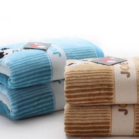 金号正品商务史努比系列 毛巾纯棉提缎百搭柔软吸水