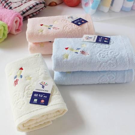 金号毛巾正品  纯棉宝宝童巾  割绒可爱儿童 吸水小毛巾