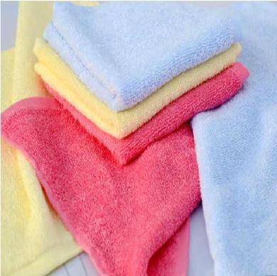 金织汇 竹纤维毛巾 纯棉吸水洁玉小方巾擦手巾 柔软舒适实用