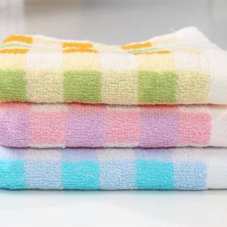 正品 孚日洁玉 纯棉卡通小熊可爱小毛巾童巾 儿童毛巾纯棉柔软