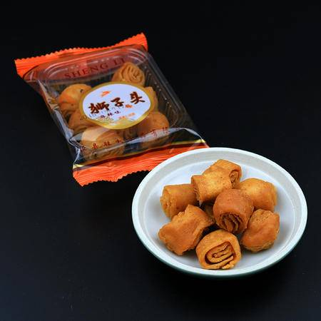 香脆麻花狮子头 传统美食小吃零食油炸食品280g/盒