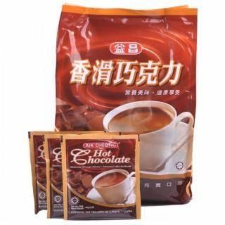 【益昌】香滑巧克力600g超值袋装马来西亚南洋风味家庭冲饮