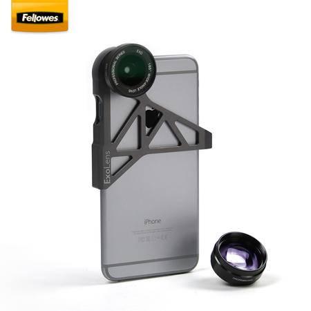【邮掌柜】范罗士/Fellowes iphone6/ iphone6s手机专业镜头 广角变焦镜头套装