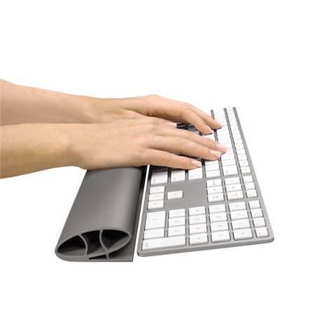 【邮掌柜】范罗士/Fellowes 人体工学橡胶键盘腕托 鼠标垫护腕 键盘长腕垫腕托 手枕 护腕枕