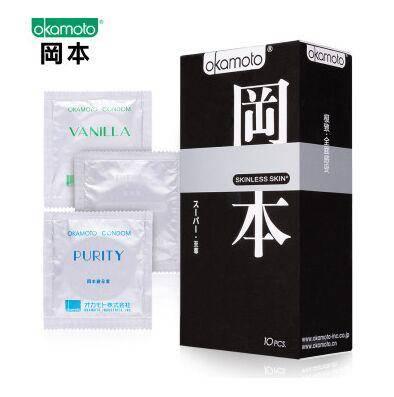 冈本避孕套极限超薄至尊10片装 安全套 原装进口Okamoto