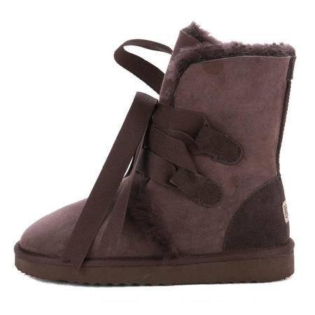 JOYPNN 羊皮毛一体 女士 短靴 79745828