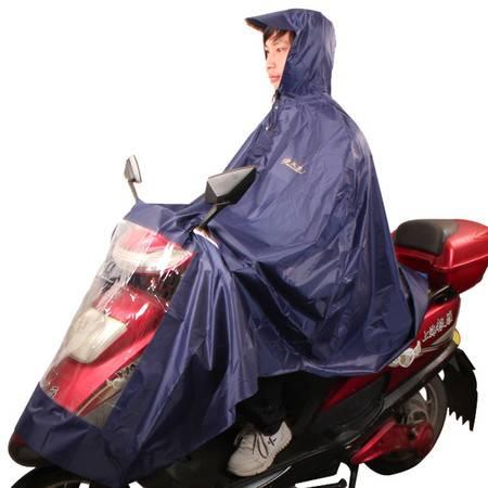 天堂伞 加大加长电动车夜光条拒水雨衣雨披 均码  N130
