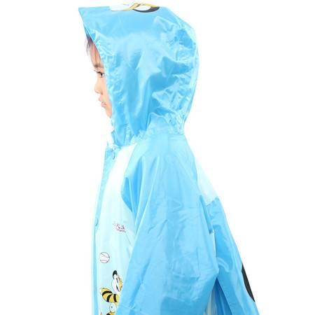 天堂伞 防水儿童可爱型跳跳虎背囊式(带书包位)雨衣雨披   D012