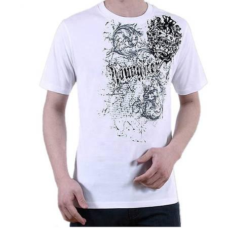 瀚瑞夏款男t恤男士短袖t恤潮男韩版t恤宽松加大码T恤夏季男装打底LYC447