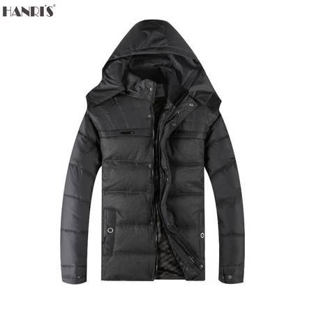 冬季新款中老年人棉衣男士加厚棉服保暖休闲棉袄斜插袋爸爸装LMW-2