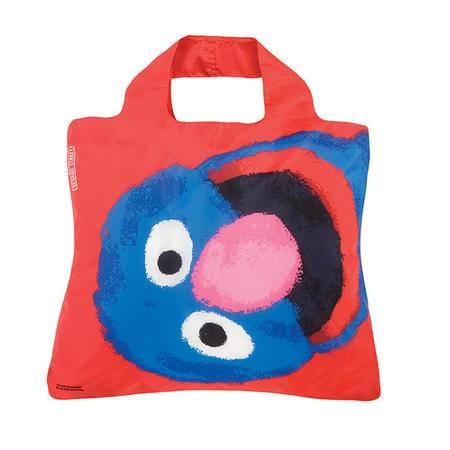 Envirosax澳洲潮牌春卷包 时尚环保购物袋背袋加拿大总理同款 ST芝麻街系列