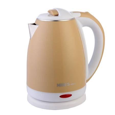 纳美仕 不锈钢电热水壶(1.8L/香槟金色)