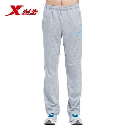 特步正品运动裤男士长裤跑步针织裤884129359005