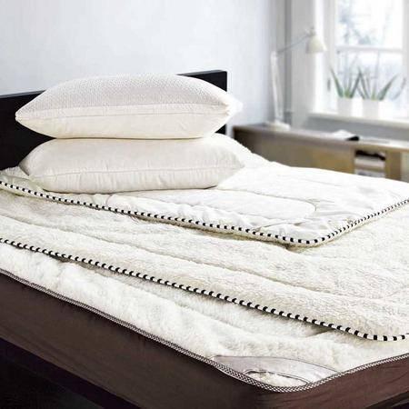 伊露莲家纺澳洲纯正羊毛床垫