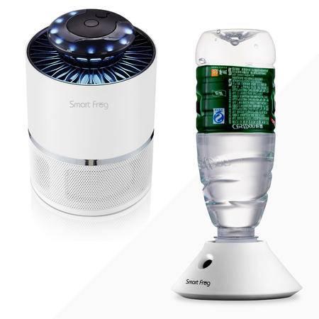 卡蛙(SmartFrog) 光触媒家用婴儿孕妇无辐射灭蚊灯赠水瓶座加湿器