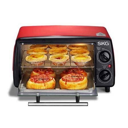 SKG 烤箱 家用电烤箱多功能迷你型12L KX1701