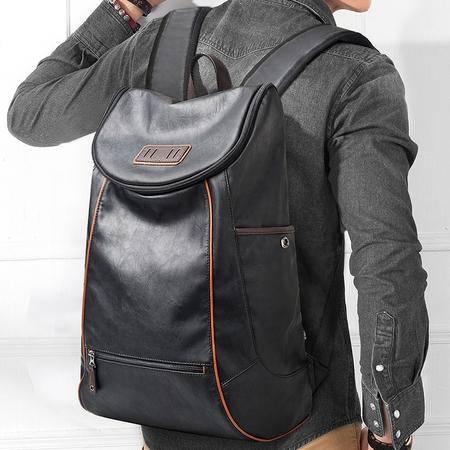 佑一良品潮酷双肩包男士背包女日韩版休闲电脑包学生书包男包潮包