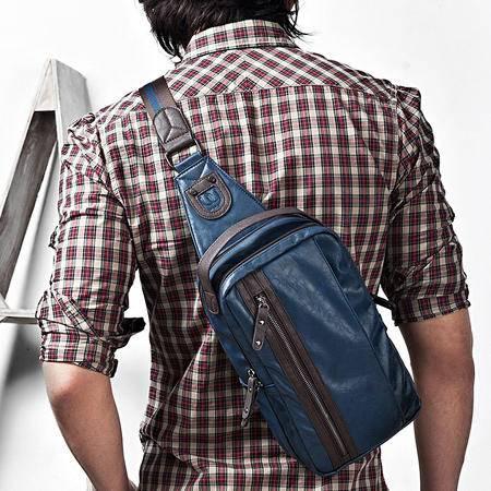 佑一良品 经典男包胸包 男 韩版潮原宿包单肩背包手提包休闲包包