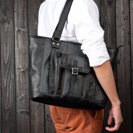 佑一良品单肩包男休闲韩版电脑挎包手提包男士商务潮包包运动背包