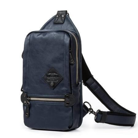 佑一良品胸包单肩包男女运动休闲韩版潮包斜背包iPad挎包男士背包