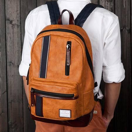 佑一良品英伦学院双肩包男女休闲高中学生书包日韩版潮牌旅行背包