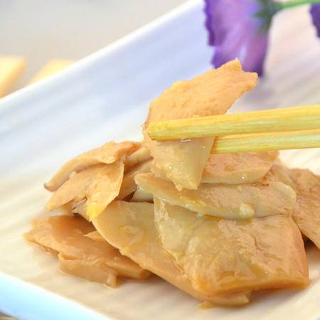 七井七宝酱菜杏鲍菇精选杏鲍菇绿色有机健康食品休闲食品300g