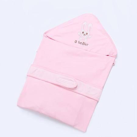 海勒兔  春夏季纯棉抱毯 精梳棉新生儿婴儿抱被包邮