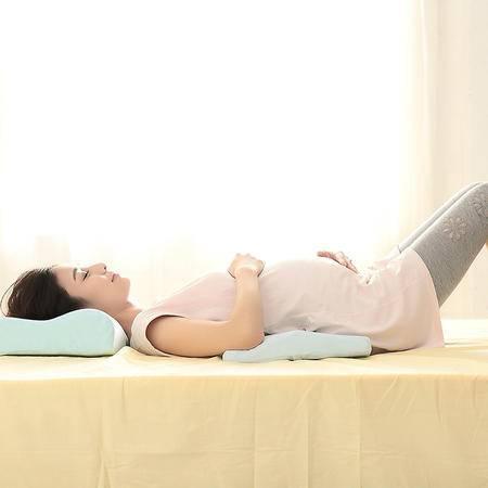 UHEALER逸海勒零压力慢回弹太空记忆棉孕妇靠垫护腰减压腰枕靠背