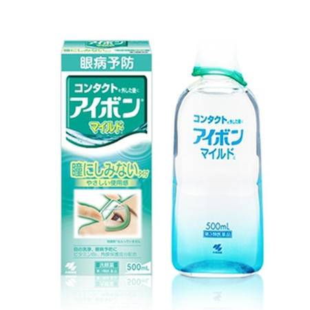 小林洗眼液滴眼润眼液抑菌止痒预防缓解眼疲劳500ml 绿色