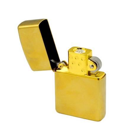 心诺 EZIP 电子打火机(电子点烟器)金色
