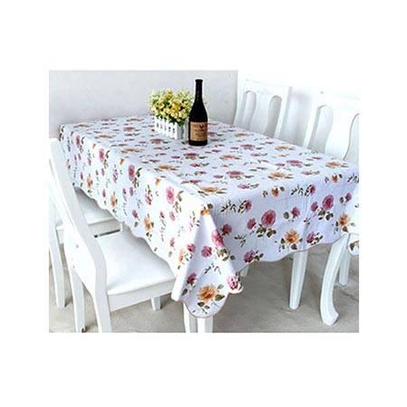 心诺 HM41白色 pvc桌布防水免洗茶几桌布塑料餐桌布餐垫防油