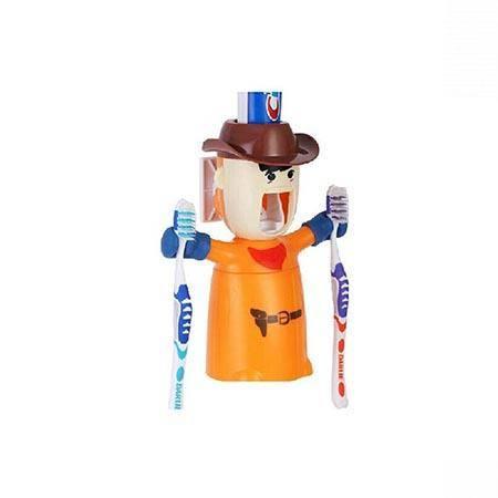 心诺 HM03 全自动挤牙膏器 带刷牙架漱口杯 浴室用品洗漱卫浴套装