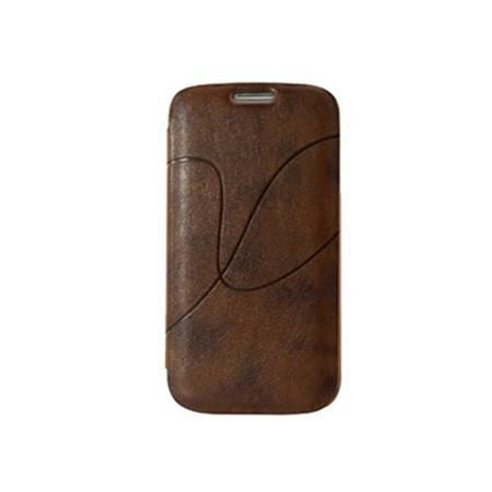 艾可优 I-CUE IP18 iphone4/4s/5/5s真皮手机壳蓝色