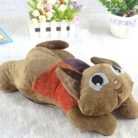 心诺 卡通猫咪(可拆洗双插手)热水袋 SY1602