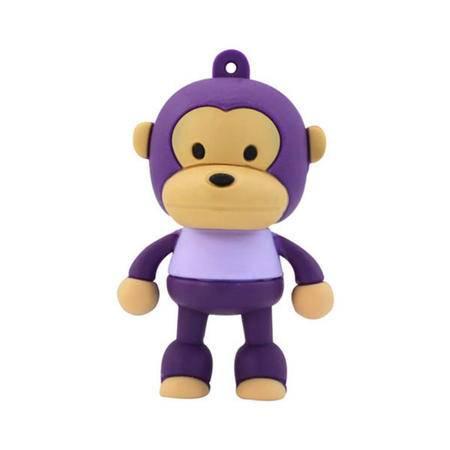 艾可优  UP07A 机灵聪明猴8G/U盘