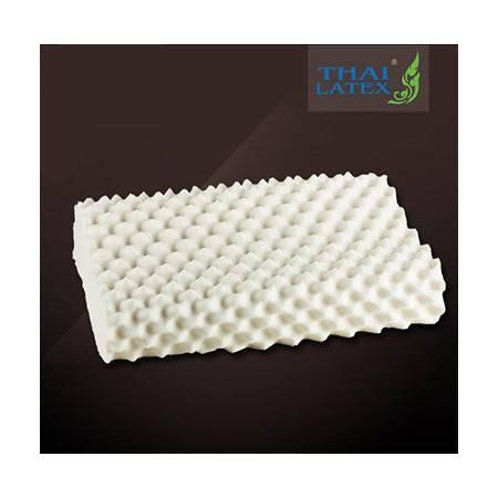 泰国进口Thai Latex纯天然橡胶乳胶高低颗粒按摩睡眠记忆枕头